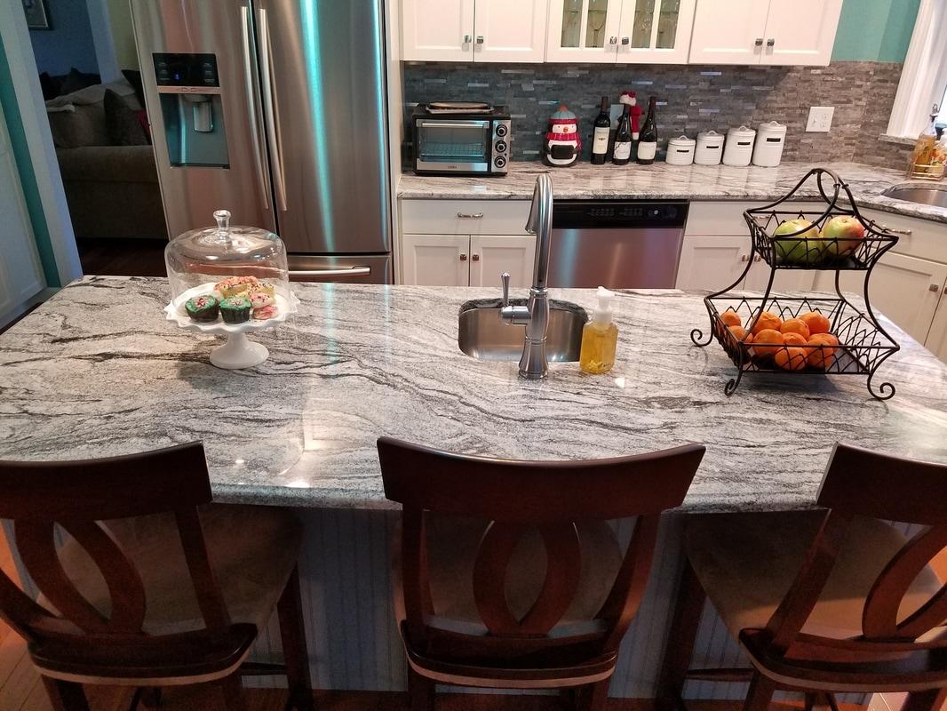 Countertops By Superior Viscont White Kitchen