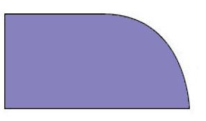 Demi Bullnose Countertop Edge Profile