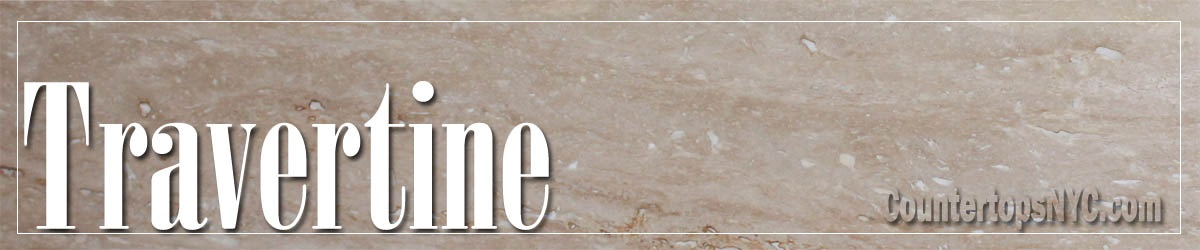 Travertine Countertops NYC