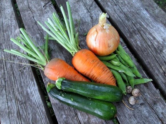 Camping cuisine: Veggies for foil pack
