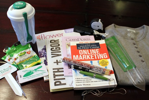 Garden Bloggers Conference swag