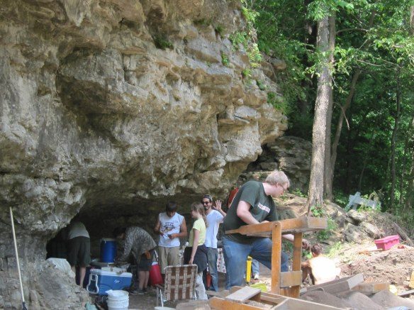 Indian Cave at Coralville Lake