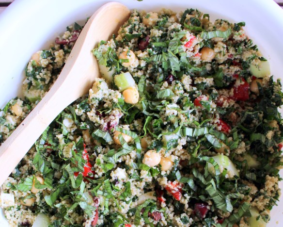 Kale and Couscous Salad