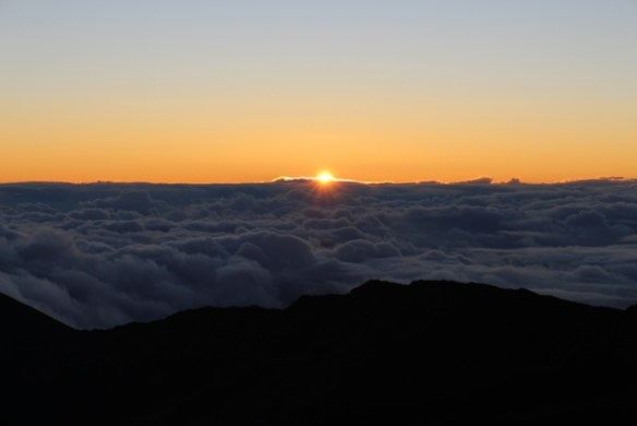 Christmas 2016 Sunrise on Haleakala