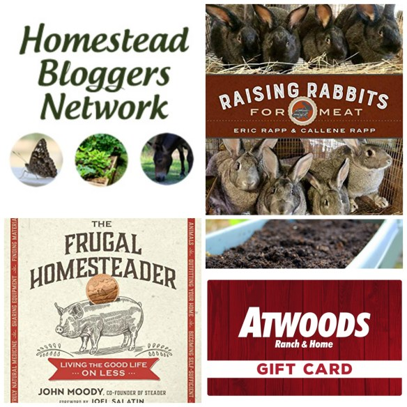 Frugal Homesteader Giveaway