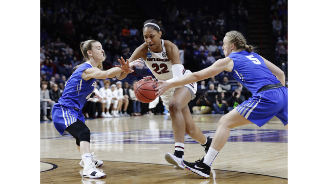 NCAA Buffalo South Carolina Basketball_1521928641806