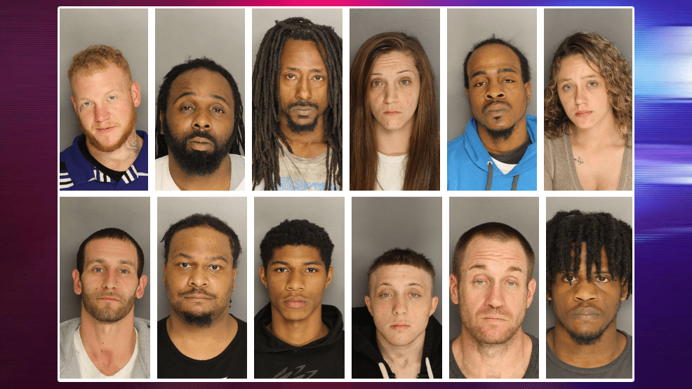 44 arrests made in Berkeley County following a crime-sweep operation