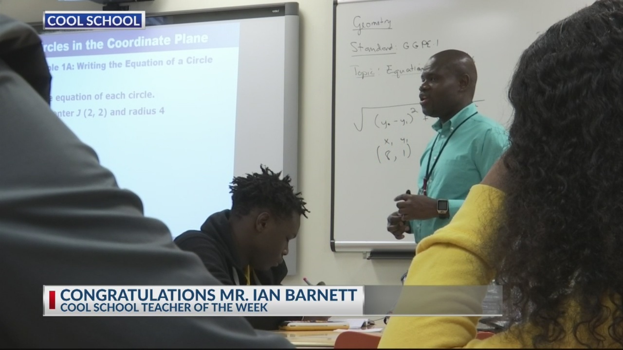Cool School Teacher Mr. Ian Barnett