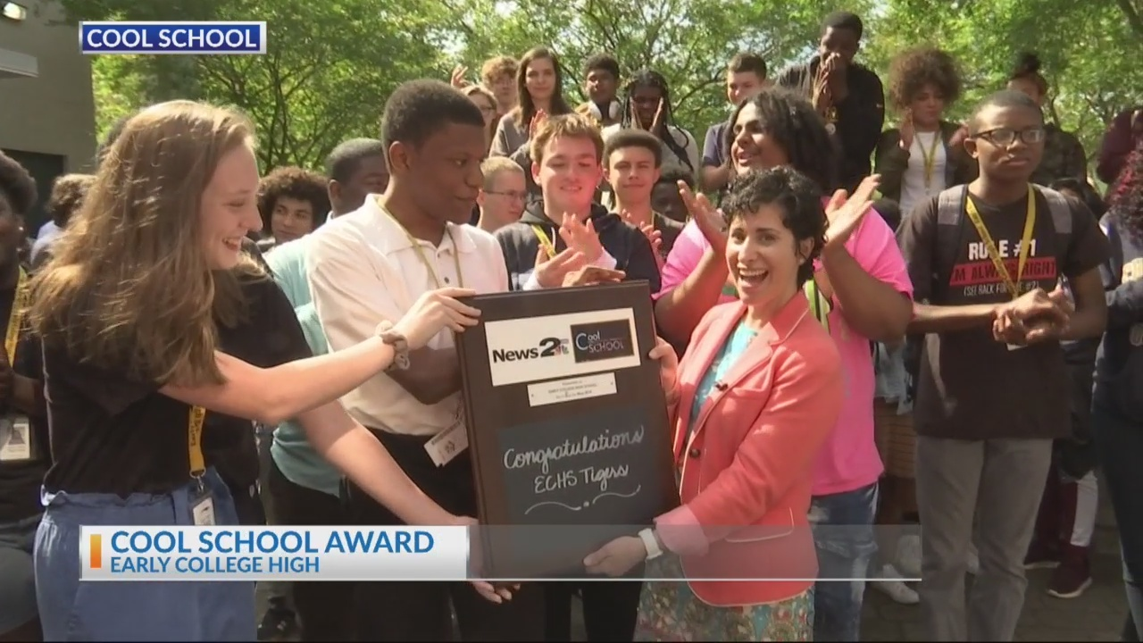 Early College High Cool School award
