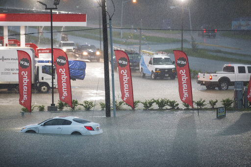 The Latest Conditions In Houston Improve As Imelda Departs