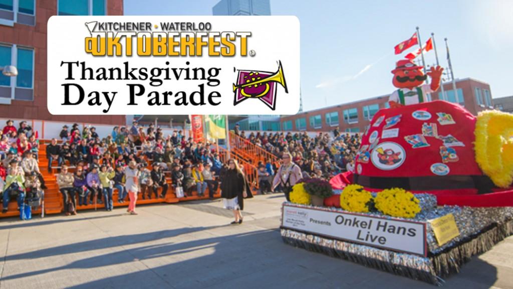 Kitchener Waterloo Oktoberfest Thanksgiving Day Parade