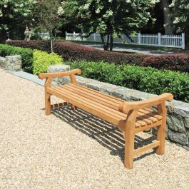 monarch 6 ft backless bench