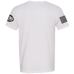 White Basic Crew - Back