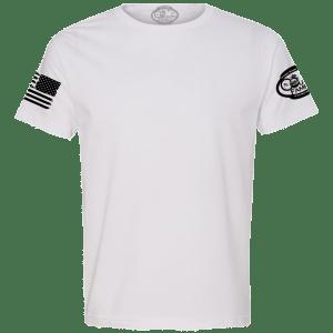 White Basic Crew - Front