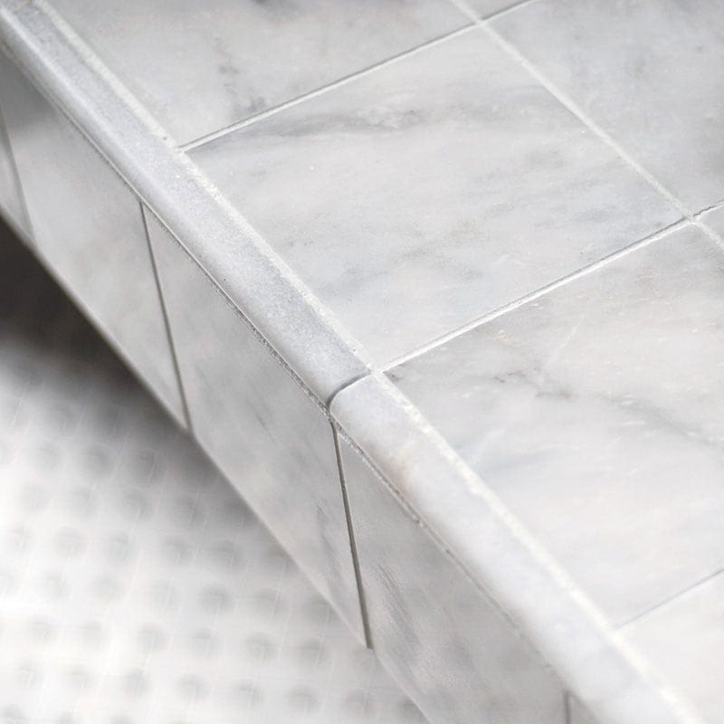 avalon polished pencil liner marble moldings 1 2x12