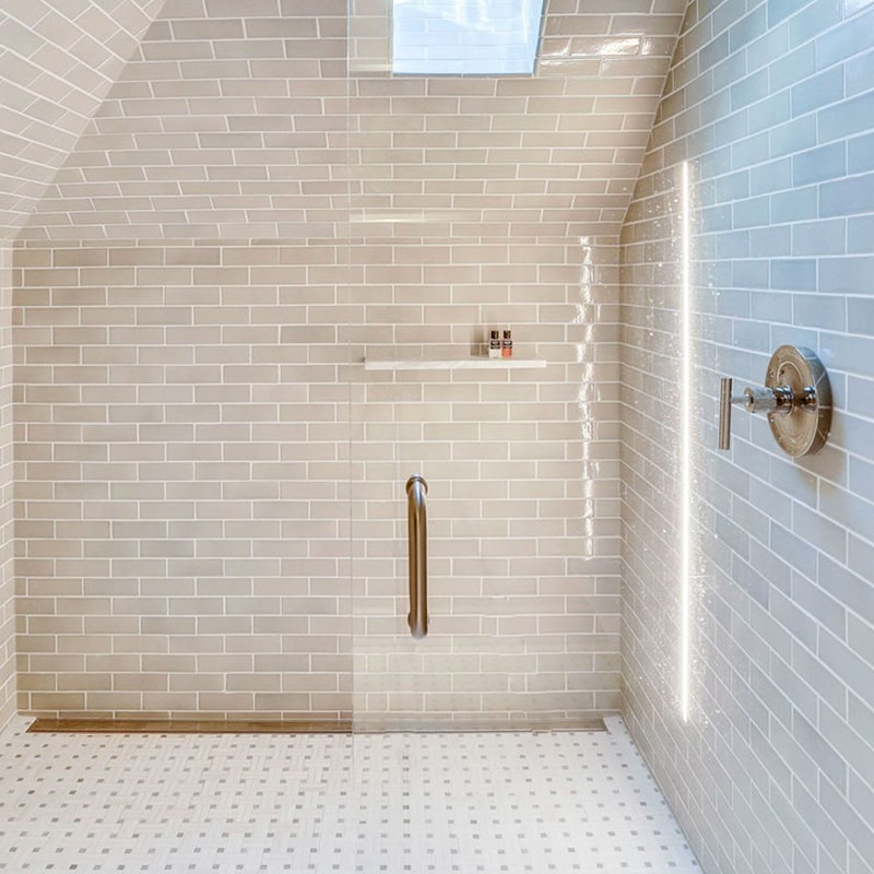moresque glazed tile country floors