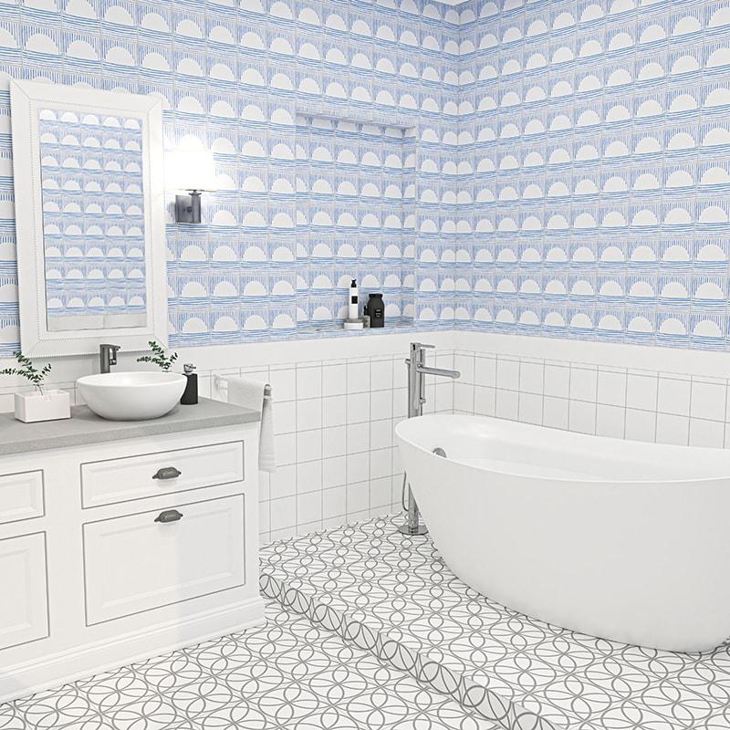 aluna matte ceramic tiles 6x6