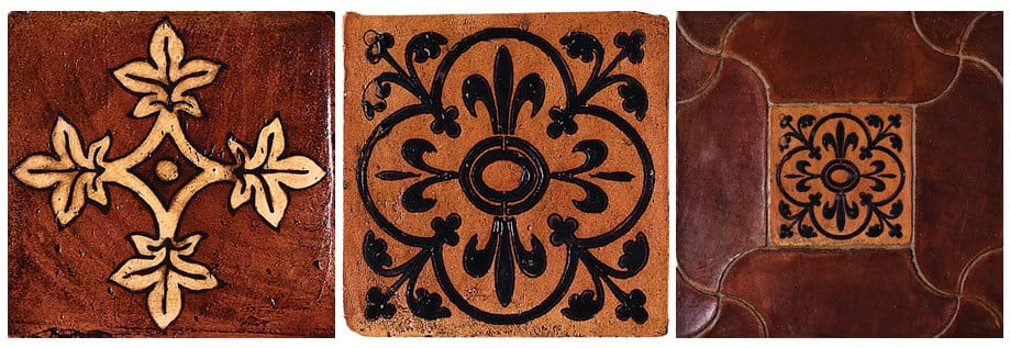 terracotta tiles part one country
