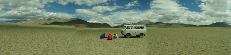 No roads necessary in western Mongolia