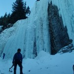 Ice Climbing at Hyalite Canyon