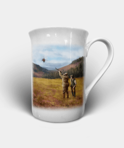 Country Images Personalised Custom Bone China Mug Highland Collection Clay Pigeon Shooting Sports Shoot Skeet Gift Gifts Idea Ideas 2