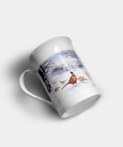 Country Images Personalised Custom Bone China Mug Highland Collection Pheasant Pheasants Gift Gifts Idea Ideas 11