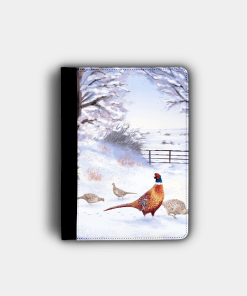 Country Images Personalised Custom Customised Flip iPad Cover Case Scotland Scottish Highlands Pheasant Pheasants Gift Gifts