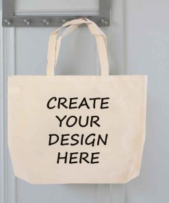 Blank Tote Bag Personalised Gift - Ready to Personalise