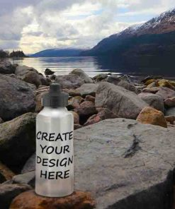 Blank Water Bottle Aluminium Reusable Environmentally Friendly Personalised Gift - Ready to Personalise