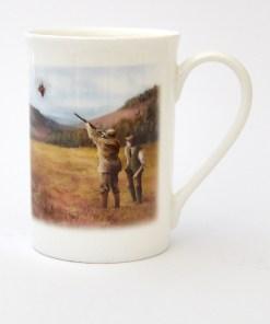 Bone China Mug (Clay Shooting)
