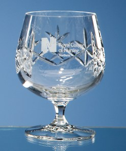 "Engraved ""Charlotte"" Brandy Glass"