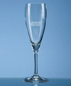 "Engraved ""Michelangelo"" Champagne Flute"