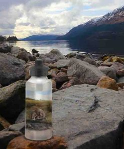Highland Collection - Aluminium Reusable Environmentally Friendly Water Bottle (Otter) Personalised Gift