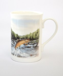 Highland Collection - Bone China Mug (Brown Trout)