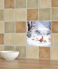 Highland Collection - Ceramic Tile (Pheasant)