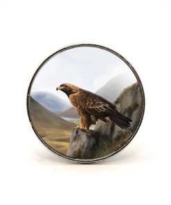 Highland Collection - Circular Magnet (Eagle)