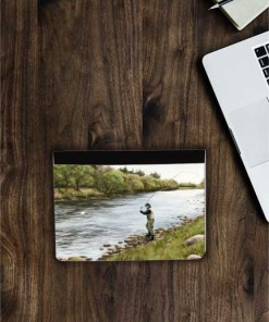Highland Collection - Flip iPad Case (Fly Fishing) Personalised Gift