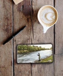 Highland Collection - Flip Phone Case (Fly Fishing) Personalised Gift