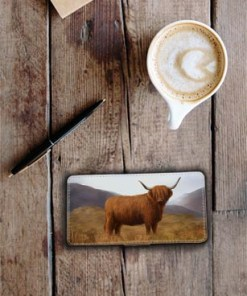 Highland Collection - Flip Phone Case (Highland Cow) Personalised Gift