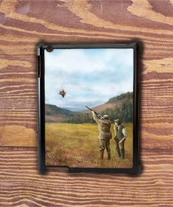 Highland Collection - iPad Shell Case (Clay Shooting) Personalised Gift