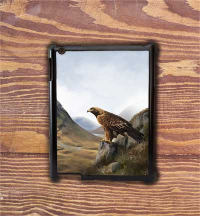 Highland Collection - iPad Shell Case (Eagle) Personalised Gift