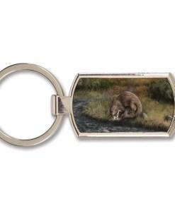 Highland Collection - Lozenge Keyring (Otter)