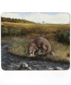 Highland Collection - Mousemat (Otter) Personalised Gift