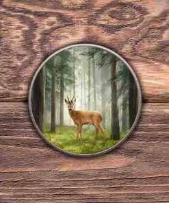 Highland Collection - Round Tin (Roe Buck) Personalised Gift