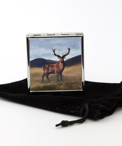 Highland Collection - Square Pill Box (Stag)