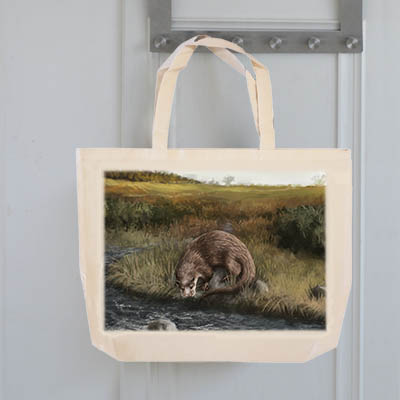 Highland Collection - Tote Bag (Otter) Personalised Gift