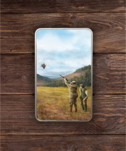 Rectangular (Clay Shooting) Personalised Gift