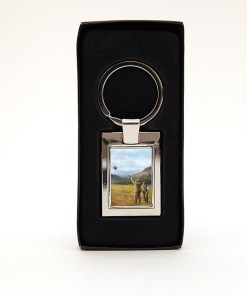 Rectangular Keyring (Clay Shooting)