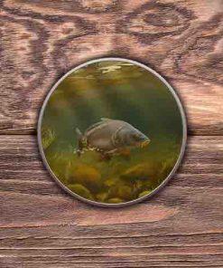 Round Tin (Mirror Carp) Personalised Gift