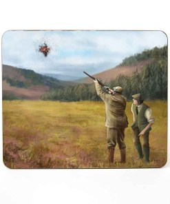 Table Mat (Clay Shooting) Personalised Gift